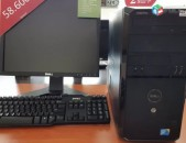 Erashxiq 2 tari intel dual core 5400.4 gb ram, 250 gb hdd + 17 duym monitor