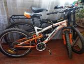 Ամորտիզատրներով/մեղմիչ/ Շվեյցարական հեծանիվ Fabrica, Shimano մեխանիզմներով