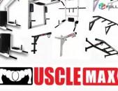 ՏՈՒՌՆԻԿՆԵՐ turnik турник MuscleMax պրոֆեսիոնալ մատչելի գներով, պատին ամրացվող, դ