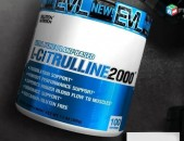 EVLUTION NUTRITION L-Citrulline, 200 Grams Unflavored Цитруллин амино amino bcaa
