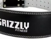 """Grizzly 4"""" Padded Pacesetter Belt, Powerlifting, gym, fitness, protein, creatine"""