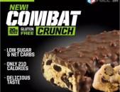 Musclepharm Combat Crunch protein bar протеиновый батончик белок bcaa amino crea