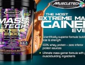 MUSCLETECH Mass-Tech Extreme 2000 Gainer Гейнер protein протеин белок creatine