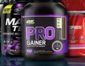 Protein Gainers Гейнеры Գեյներ Mass gainer sportayin snund спортивное питание