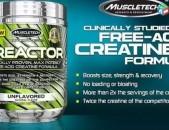 MuscleTech Creactor Creatine 120 serv Նոր սերնդի գերհզոր կրեատին Креатин