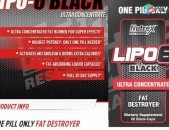 Nutrex Lipo 6 Black Ultra Concentrate 60 caps Fat burner Жиросжигатель charp ayr