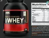 USA Optimum Nutrition Whey Gold Standard BIG սպորտային սնունդ protein bcaa gain
