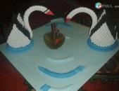 3d origami կարապներ