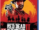 Ps4 red dead redemption2 original disk