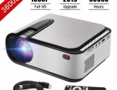 Video Projector 1080P Full HD LED Projector 3600 Lumens Proektor