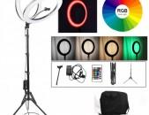 """18"""" Selfie Ring Light Selfii luis Makeupi Luis TikTok YouTube meykup make up RGB"""