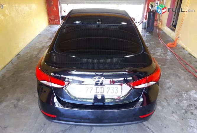 Hyundai Elantra , 2015թ. Gerazanc vichak. poxanakum tun Ashtarak