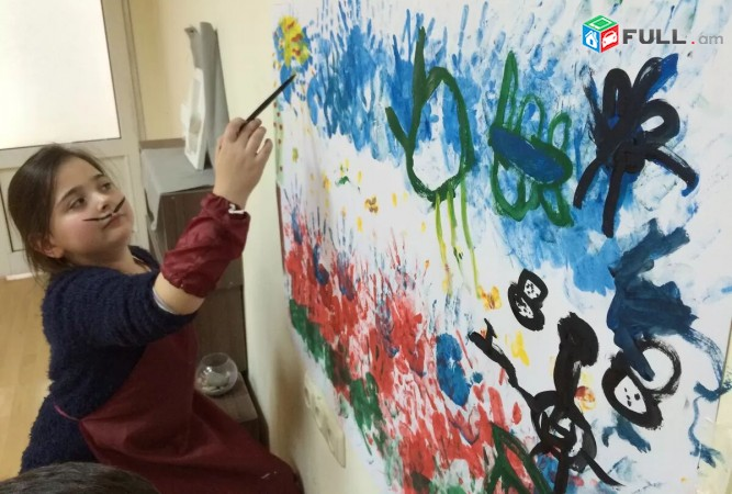 Nkarchutyan daser poqrikneri hamar, Նկարչության դասընթացներ փոքրիկների համար