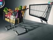 Supermarketi zambyux սուպերմարկետի զամբյուղ մետաղյա սայլակ teleshka