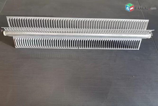 Էլեկտրական տաքացուցիչ taqacucich ալյումինե տենով (կոնվեկտոր)