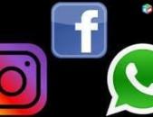 Ֆեյսբուք ինստագրամ բիզնես էջերի ստեղծում և կառավարում