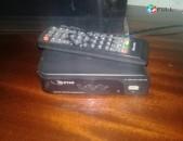 ՏԵՂԱԿԱՆ 18 ալիք թվային և ՍՊՈՒՏՆԻԿՎԻ անտենաների  DVB T2 տյունեռի ՏԵՂԱԴՐՈՒՄ և ԿԱՐԳԱՎՈՐՈՒՄ