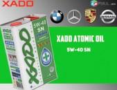 Xado atomic oil 5w40 SN Սինթետիկ շարժիչային յուղ yux jux