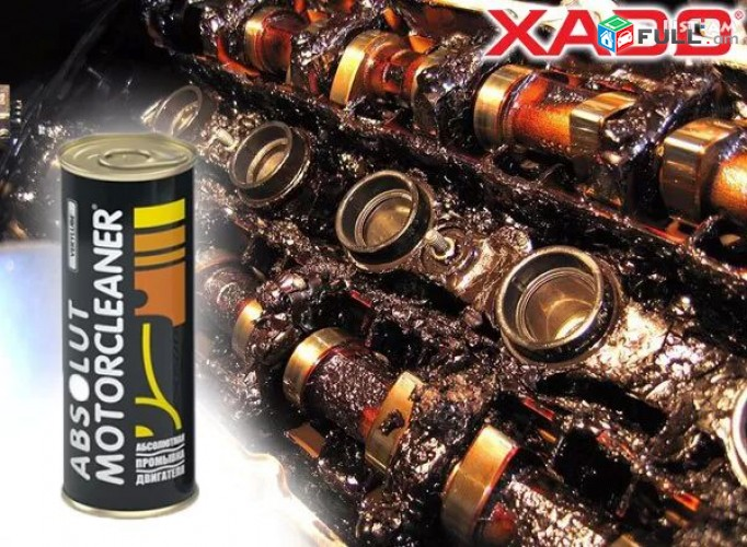 Xado Absolut շարժիչի յուղի համակարգը մաքրող միջոց յուղ yux pramivka