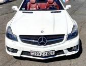 Cabriolet MERCEDES SL 63 AMG Rent a car prokat