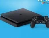 Աննախադեպ Առաջարկ Sony Playstation 4 Slim 1000GB: Ապառիկ 0% / Երաշխիք 1 տարի ժամ