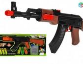 Ինքնաձիգ AK 47, սպունգից փամփուշտներով և օրբիզներով