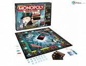 Սեղանի խաղ մոնոպոլիա, բանկային քարտով, monopolia մանապոլիա sexani xax