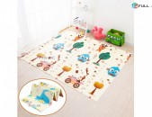 Փափուկ երկկողմանի ծալվող խաղագորգ 150 x 180 սմ, gorg xali mankakan xaxagorg գորգ մանկական