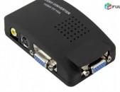 Lriv Nor Original, Vorakyal AV to VGA Adapter Converter Box - Verjacel e