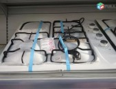 SHENSERVICE Գազօջախ Welux սպիտակ 4 տեղանոց պտուտակները կողքից