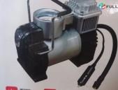 SHENSERVICE Բարձր որակի օդամղիչ pomp Պոմպ насос մեքենայի LED լապտերով Mini air c