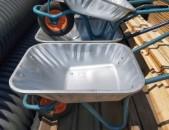 SHENSERVICE Բեռնասայլակ հայկական արտադրության փափուկ անիվով արծաթագույն