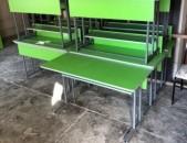 Դպրոցական սեղան և աթոռ