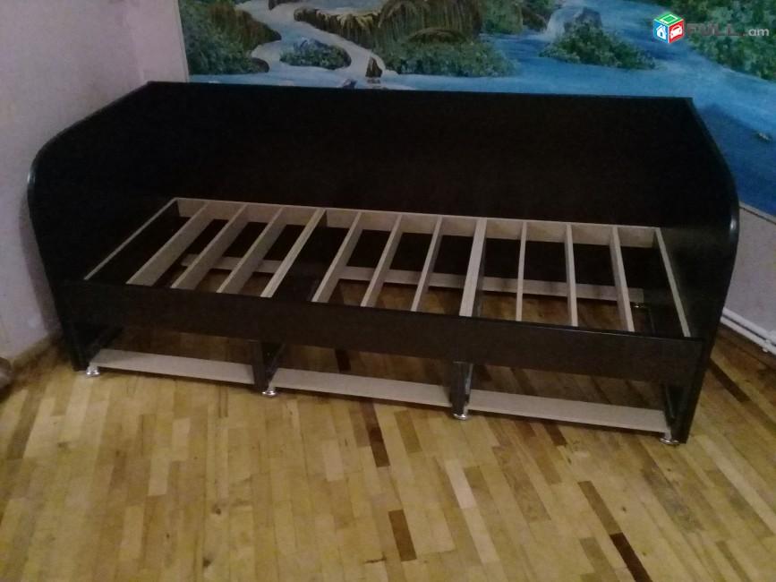 Диван кровать   3 _ դարակով