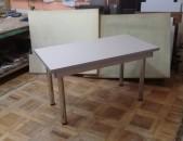Խոհանոցի սեղան երկաթե ոտքերով _1