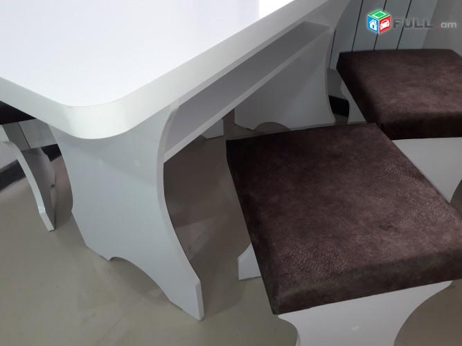 Խոհանոցի սեղան և աթոռներ
