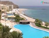 Fujairah radisson blu resort, fujairah for 2 person 1215 -eq amd