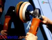Անվճար Առաքում Palirovka, Vardzov Meqenayi Polishi Sarq, Car Polishing Machine