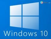 Պրոֆեսիոնալ տեղադրում Windows 10 (32-64 bit UEFI)
