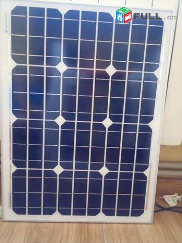 Արևային մարտկոց 100W (монокристалл) Solar Panel