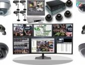 Անվտանգության համակարգեր, Տեսախցիկներ,  IP հեռախոսակապ