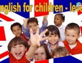 Անգլերենի մասնավոր պարապմունքներ երեխաների համար