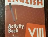 Vereshchagina Afanasyeva activity book 8