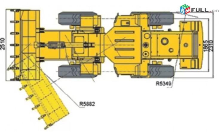 Фронтальный погрузчик SDLG LG933L (VOLVO Group) pogruzchik pagruzchik