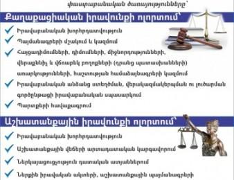Կոորպորատիվ փաստաբան, համագործակցության հրավեր