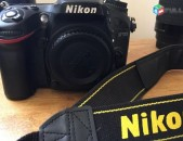 Nikon D7100, body + lens
