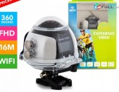360 VR Panoramic Video Camera Action Camera 360 Hd Wifi Panoramic Vr 4k 360