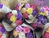 букеты цветы из фома