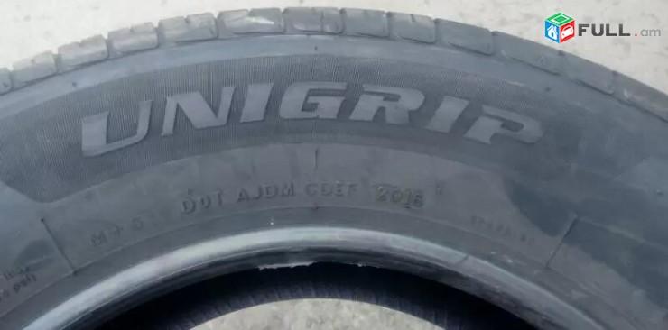 235 / 60r16 UNIGRIP ֆիրմայի նոր ամառային անվադօղեր 100%