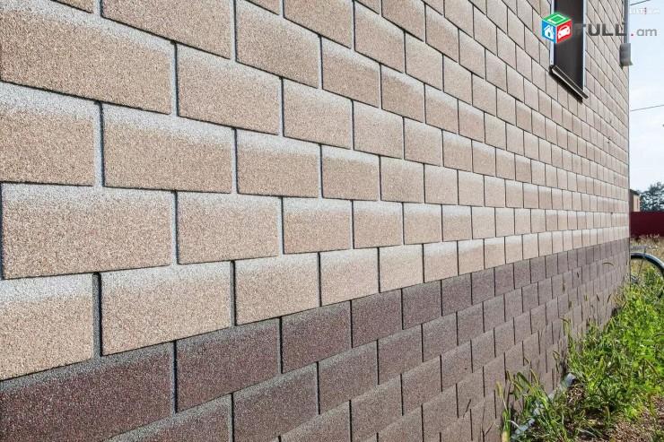 Фасадная плитка ТЕХНОНИКОЛЬ HAUBERK современный материал для облицовки фасада